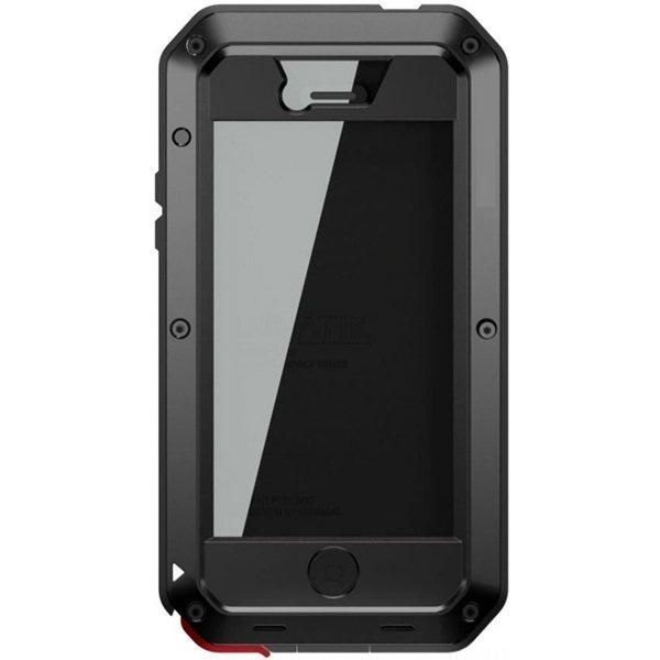 Love Mei Lunatik Taktik iPhone 4(S) - Hitam