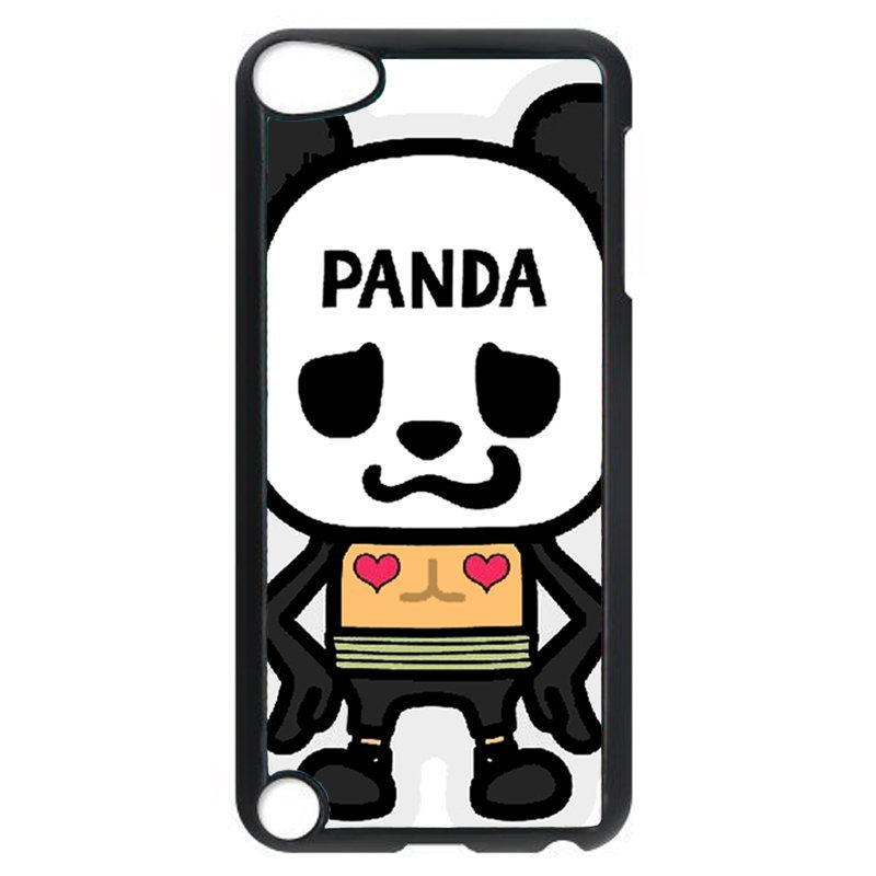 Lovely Panda Phone Case for iPod Touch 4 (Black)