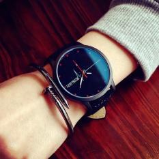 Lover Girl Boy Unisex Oversized Retro Wrist Watches Fashion Analog Quartz Watch Black