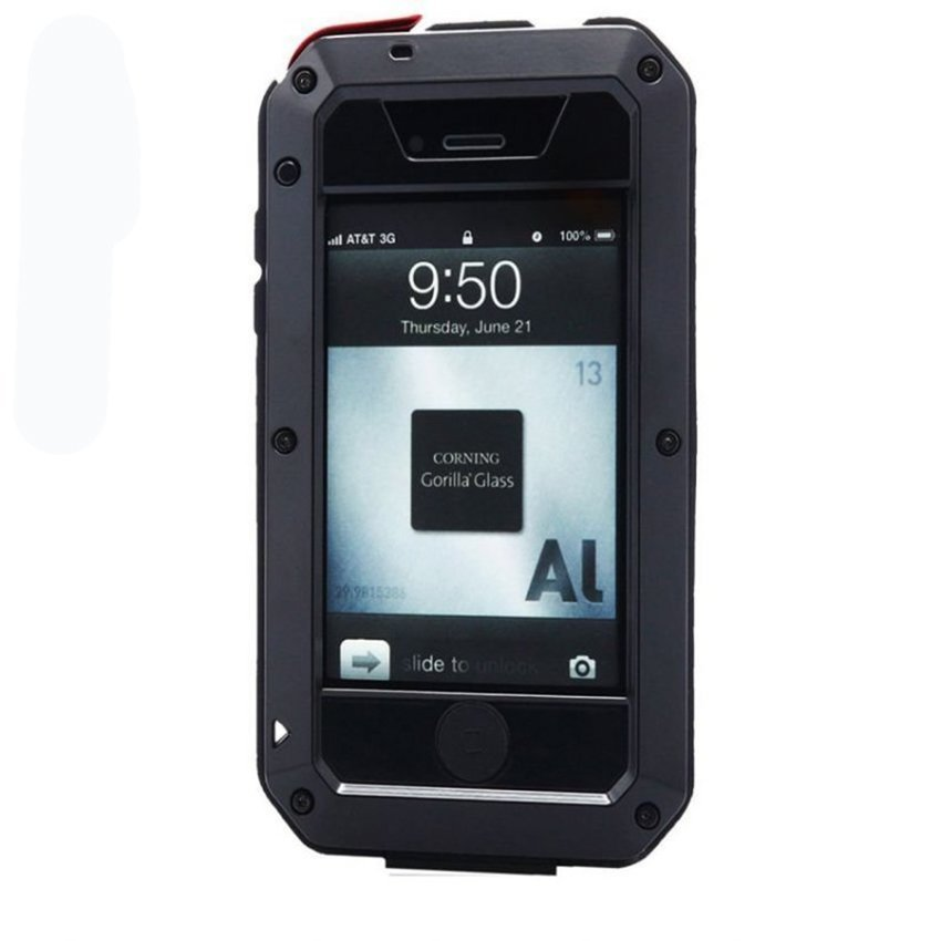 Lunatik for Iphone 4/4S Case Taktik Extreme - Hitam