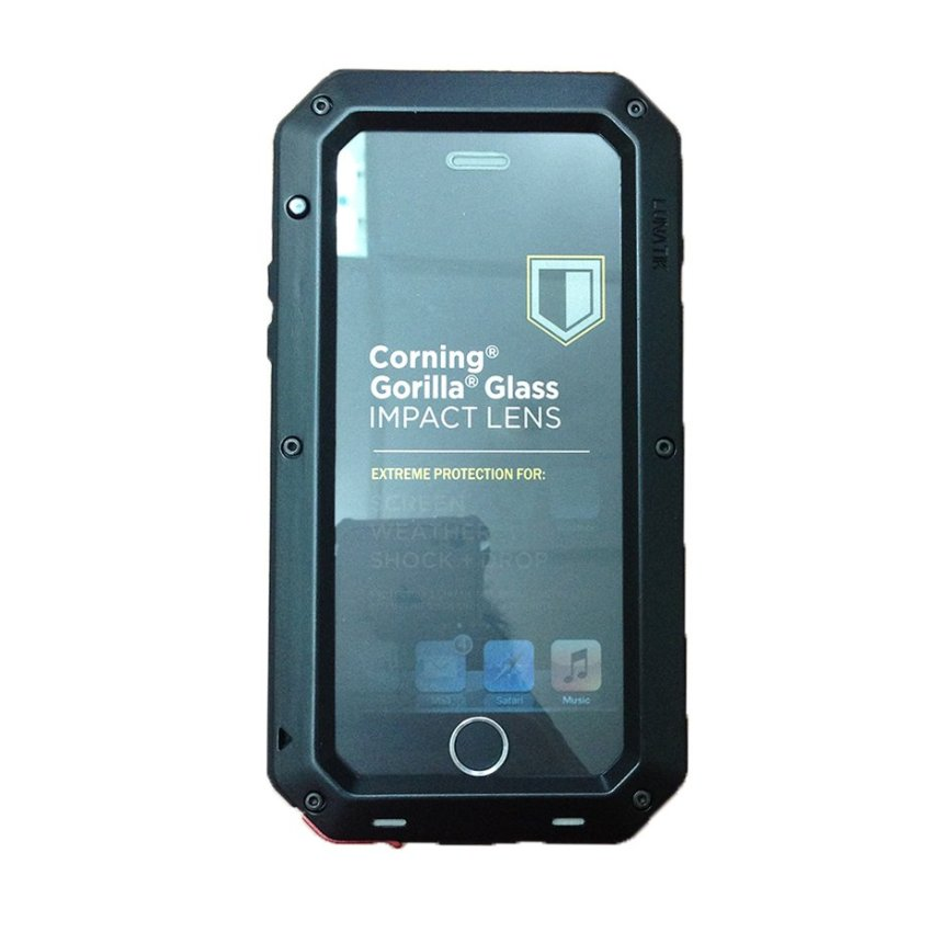 Lunatik Taktik Strike Iphone 6 - Hitam