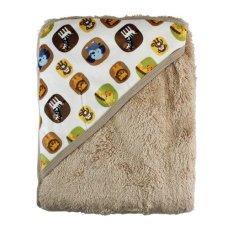 Lynx Candy Selimut Bayi Topi Carter's - Baby Blanket Carter - Animal - Cokelat