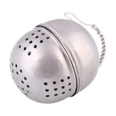 LZ New Egg Shape Tea Filter Stainless Steel Infuser Strainer Mesh Locking Tea Egg Shape Filter Silver High Quality