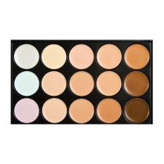 M.n Contour Cream Series 15 Colors Camouflage Concealer Palette