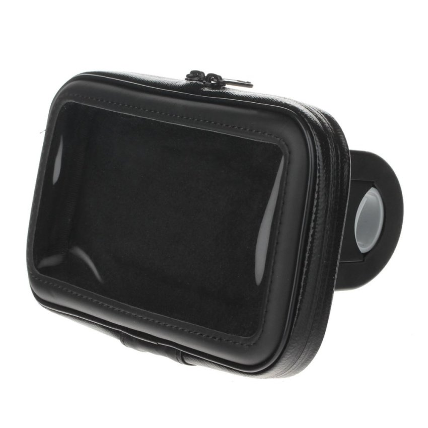 M09 360 Degree Rotation Bracket w/ Waterproof PU Leather Bag for Note 1 2 3 N7100 N9006 (Black) (Intl)