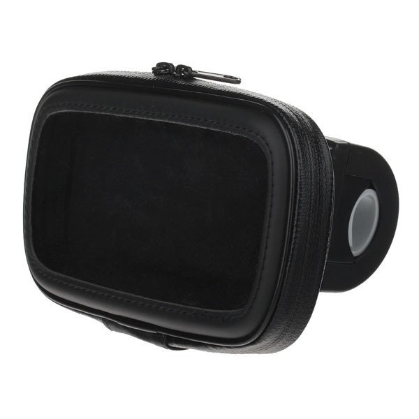 M09 360 Degree Rotation Bracket w/ Waterproof PU Leather Bag for Samsung Galaxy S3 i9300 - Black
