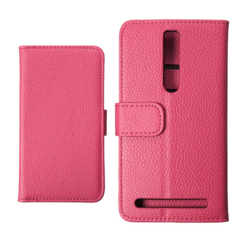 Magnetic Flip PU Leather Wallet Cover for ASUS Zenfone 2 ZE551ML 5.5