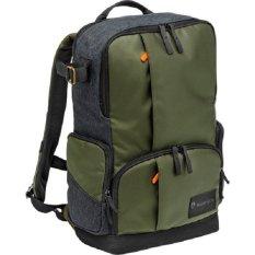 Manfrotto Tas Kamera Manfrotto Street Medium Backpack For DSLR Camera & Personal Gear MB MS-BP-IGR - Hijau