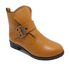 Marc & Stuart Sepatu Wanita Alegra Boots - Oranye