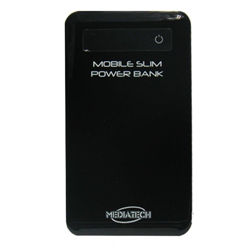 Mediatech MPW-07 Ultra Slim Power Bank- 5600 mAh - Hitam