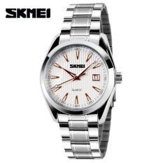 Men Quartz Watch Full Stainless Steel Watches Wristwatches, Mans Casual Watch Fashion Wrist Watche Men's Dress, Relogio For Man - Intl