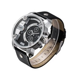 Mengyanni CAGARNY DZ Style Leisure Sports Brand Quartz Skin Mens Watch Large Dial Mens Watch Wholesale