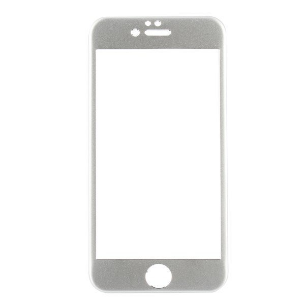 Metal Aluminium Skin Case Cover Sticker Front & Back for iPhone 6 Plus 5.5'' Silver (Intl)