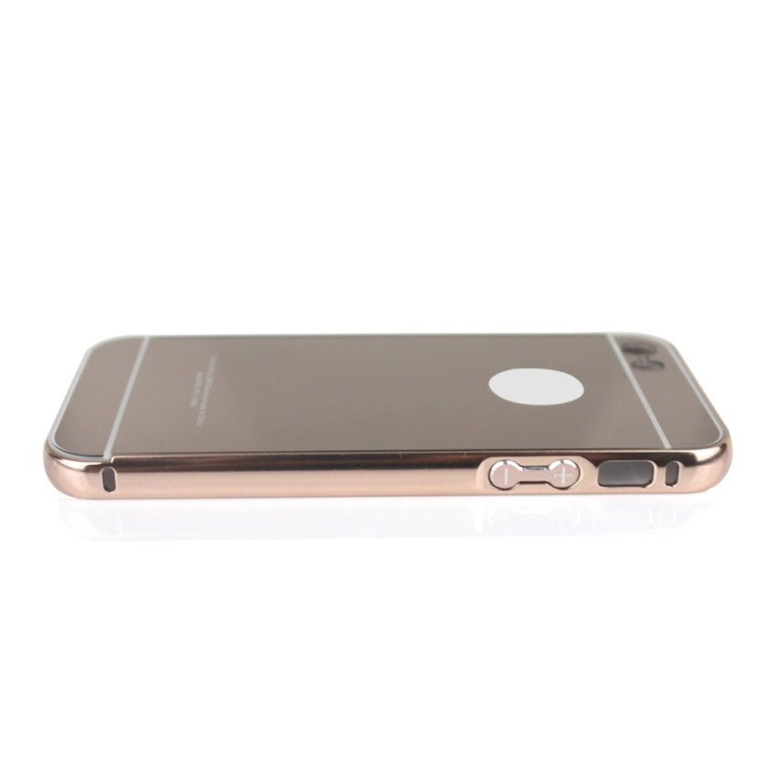 Metal Bumper&Ultrathin 24K Golden Back Cover for iPhone5/5s (Gold) (Intl)