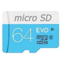 Micro SDHC 64Gb Class 6 - Biru