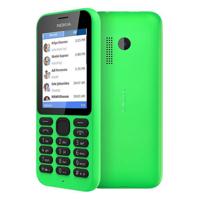 Microsoft Nokia 215 Dual SIM - Hijau