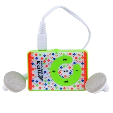 Mini Clip USB MP3 Music Media Player With Micro TF / SD Card Slot Support 1 - 8GB Earphone