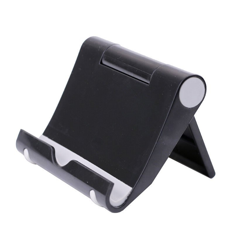 Mini Mobile Phone Holder Stand Folding Bracket For Smartphone IPhone IPad Tablet PC Universal (Black) (Intl)
