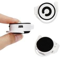 Mini MP3 Player Worn On The Ear Music Media Player USB Support TF Card Black Free Shipping