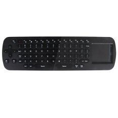 Mini Portable 2.4ghz Wireless Fly Keyboard For Mini Pc Google Android Tv Box (Black) (Intl)