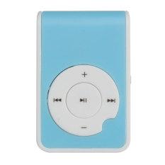 Mirror Clip USB Digital Mp3 Music Player Maximum Support 8GB TF