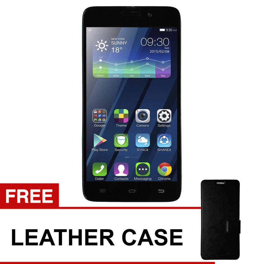 Mito A550 Fantasy Style - 16GB - Hitam + Gratis Leather Case