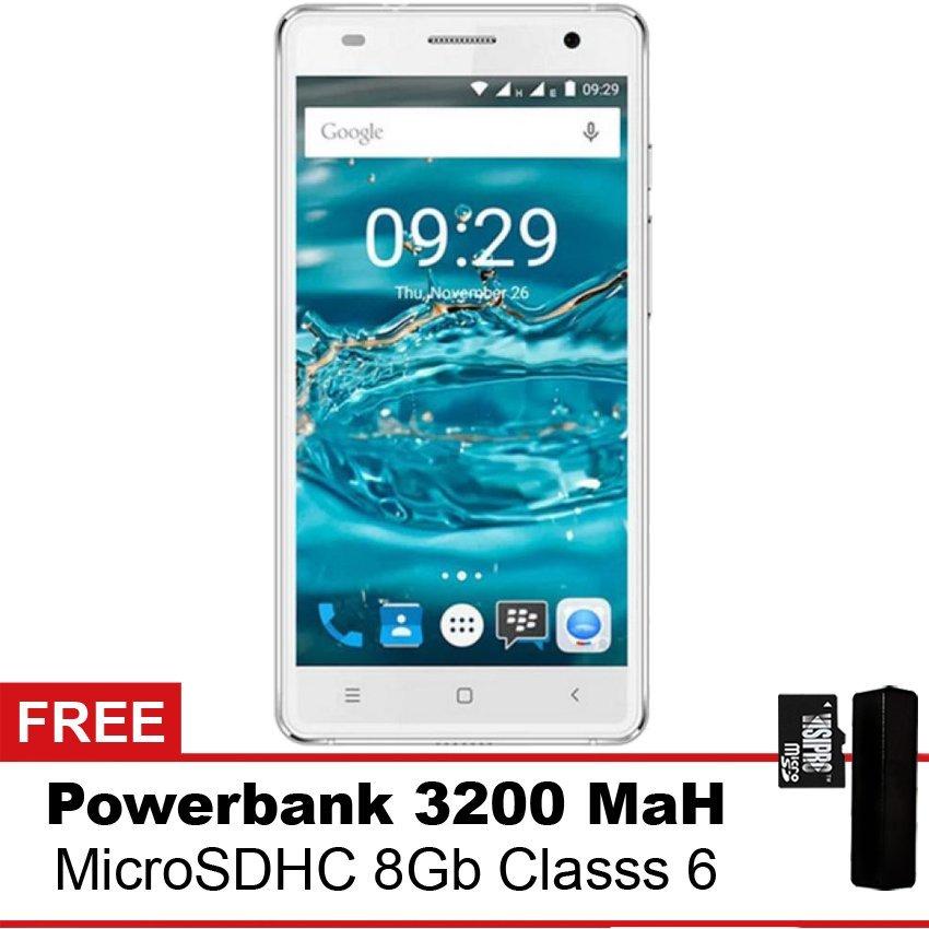 Mito A73 - Putih + Gratis Powerbank + MMC 8Gb