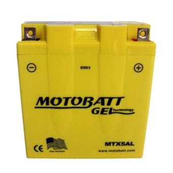 motobatt aki motor mtx5al gel khusus jawa barat lazada