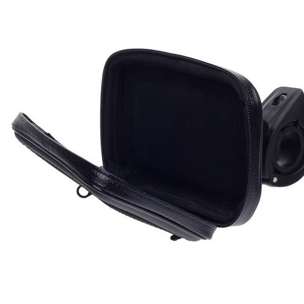 Motorcycle Bicycle Water Resistant Holder / Stand for GPS / Iphone 5 - Black (Intl)