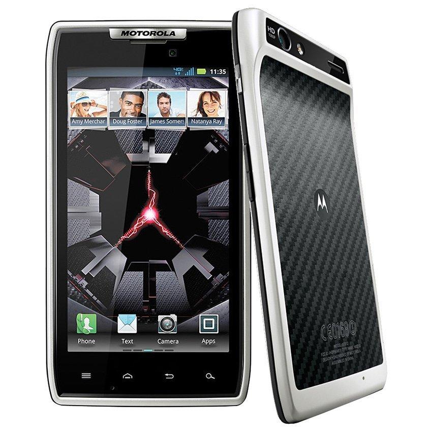 Motorola XT 910 Razr - Glacier White