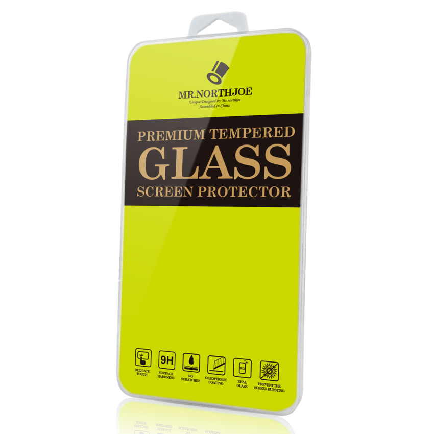 Mr.northjoe 0.3mm 2.5D 9H Tempered Glass Screen Guard Protector for Lenovo K3 - (Transparent) (Intl)