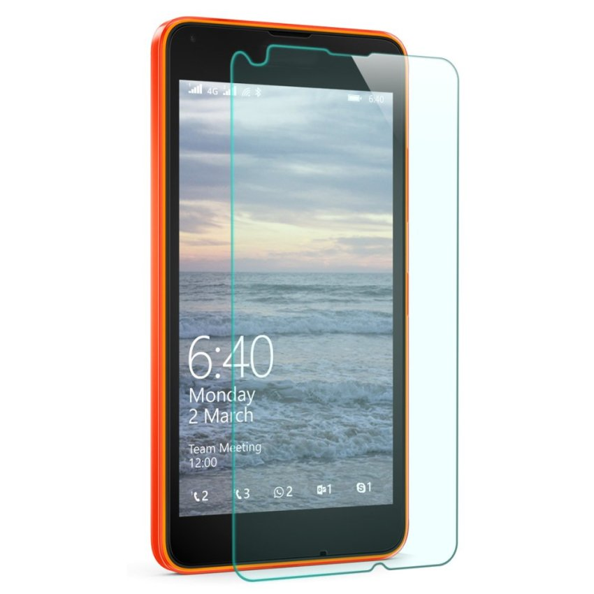Mr.northjoe 0.3mm 2.5D 9H Tempered Glass Screen Guard Protector for Microsoft Lumia 640 (Intl)