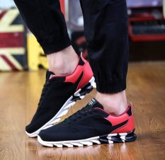 MT Autumn New Blade Classic Casual Shoes, Classic Fashion Wild Sports Shoes, Wear Non-slip (Red)