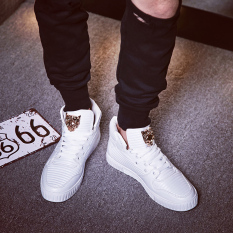 MT Europe Selling Street Fashion Casual Shoes, Personalized Shoes Tide Classic Cool, Comfortable Wear Non-slip (White) - Intl