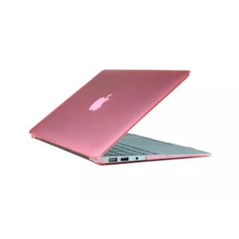 MULBA Pink Color Silky-Smooth Soft-Touch Hard Case Cover For MacBook 13-Inch Air 13.3""