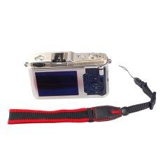 Multicolor Nylon Camera Hand Grip Wrist Strap For Canon Nikon Sony Pentax Compact Camera Mirrorless Camera (Red / Black) (Intl)