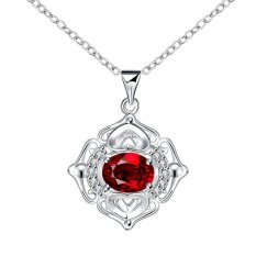 N061-A High Quality New Style Fashion Jewelry Free Shopping Silver Plating Necklace (Intl)