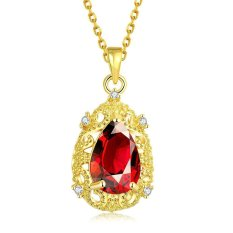 N108-A High Quality Zircon Necklace Fashion Jewelry Free Shopping 18K Gold Plating NecklaceN108-B High Quality Zircon Necklace Fashion Jewelry Free Shopping 18K Gold Plating Necklace (Intl)