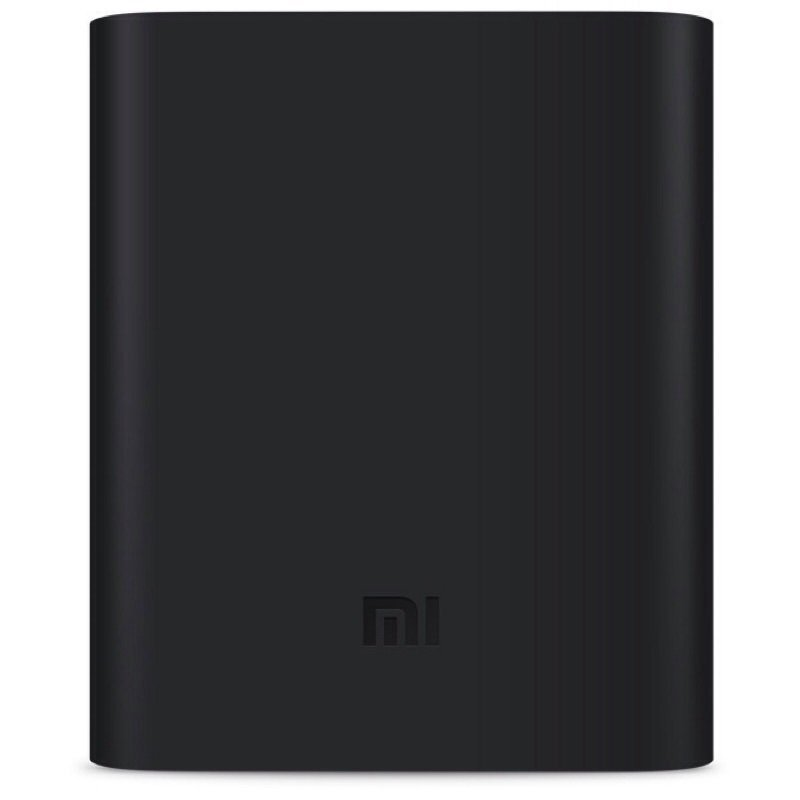 NAge Silicone Case For Powerbank Xiaomi 10400mah - Hitam