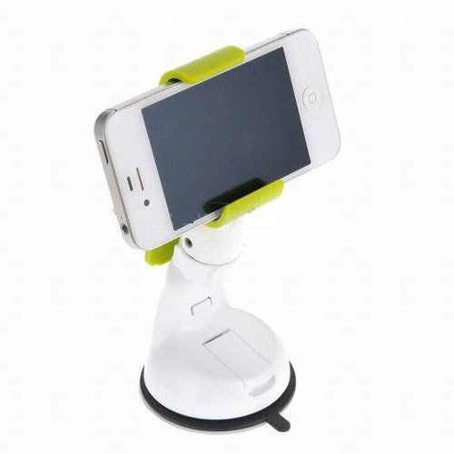 Neo Grab NEO GRAB_GR Smartphone Car Mount Holder Cradle for Samsung Galaxy S4, Note 2 and iPhone 4S/5 - Retail Packaging - Green