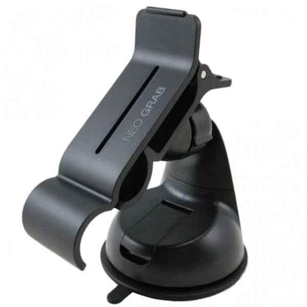 NEO GRAB Smarphone Holder Mobile Car Mount (Black)
