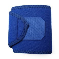 Neoprene Silicon Wrist Thumb Brace Support Guard Gym Weight Lifting Strap Wrap Blue (Intl)