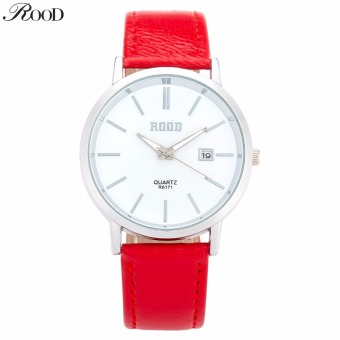 New 2016 Rose Gold Watch Women Leather Band Square Dial Quartz Analog Wrist Watch Fashion Luxury Women Watches Relogio Feminino