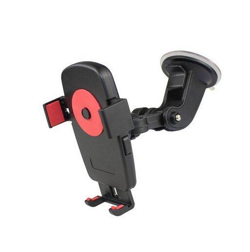 New Arrival Universal Multifunction Automotive Car Sucker Mount Phone Holder (Black) (Intl)