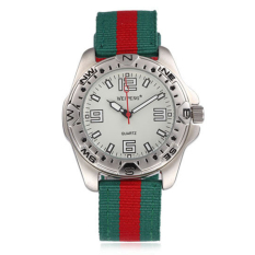 New Canvas Wristband Sports Watch