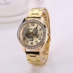 New Fashion Woman Watches New Gold Silver Rose Gold Color Watch Brand Watches For Women Geneva Watches (Gender ForLady)