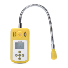 New Portable Combustible Gas Detector Portable Gas Leak Location Determine Tester LCD Display Sound-light Alarm Gas Analyzer - Intl