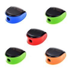 NiceEshop 5 Pcs Random Color Plastic Manual Pencil Sharpener