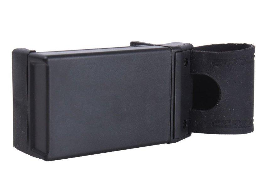 niceEshop Car Steering Wheel Mobile Phone Holder Mount Clip for iPhone 5 5G 4 4S Samsung Galaxy (Black)