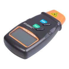 niceEshop LCD Digital Infrared Photo Tachometer Non Contact Auto RPM Tester Detector(Black) - Intl